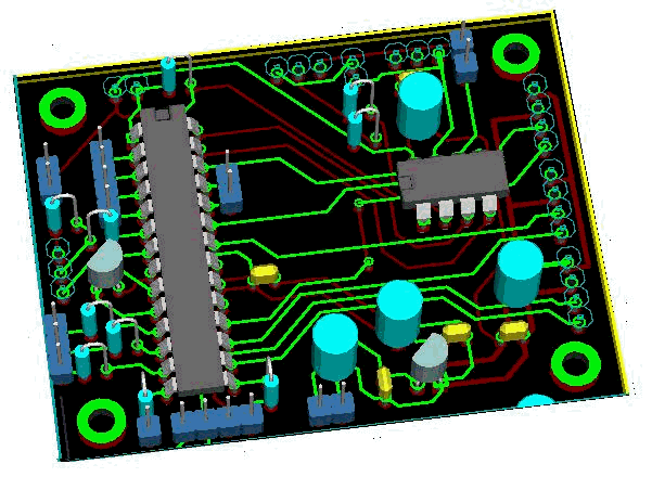 KiCad 3D visualization