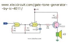Quad nand circuit